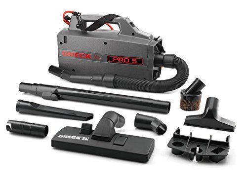 Oreck Commercial Bb900dgr Xl Pro 5 Super Compact Canister Vacuum, 30' Power Cord, 2015 Amazon Top Rated Canister Vacuums #BISS