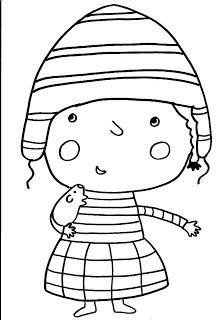 Dibujos para colorear Perú, niños peruanos | Jugar y colorear