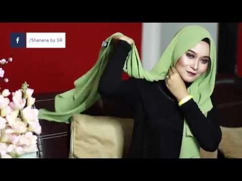 RAYA STYLE SHAWL (Mira Filzah inspired) - YouTube