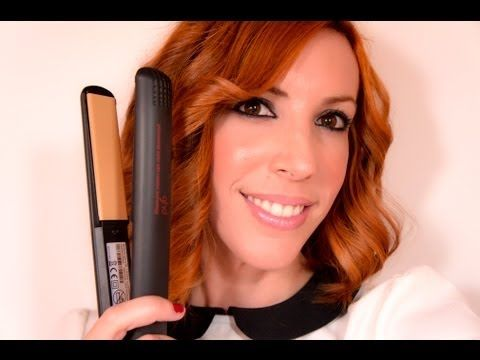 PEINADO: COMO ONDULAR O RIZAR EL PELO CON LA PLANCHA FÁCIL - Ghd Wavy Easy Hair Tutorial - YouTube
