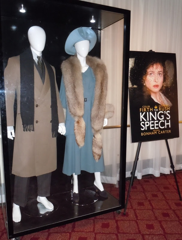 Original costumes from The King's Speech on display...