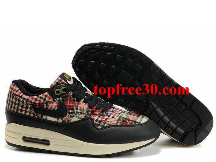 topfree30.com for nikes 50% OFF - Womens Nike Air Max 1 Black Black Pilgrim Birch Shoes