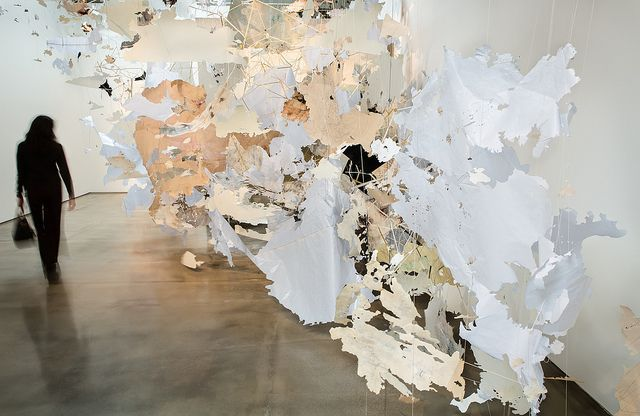 Val Britton: Intimate Immensity by SJICA, via Flickr. On view at SJICA thru May 18, 2013
