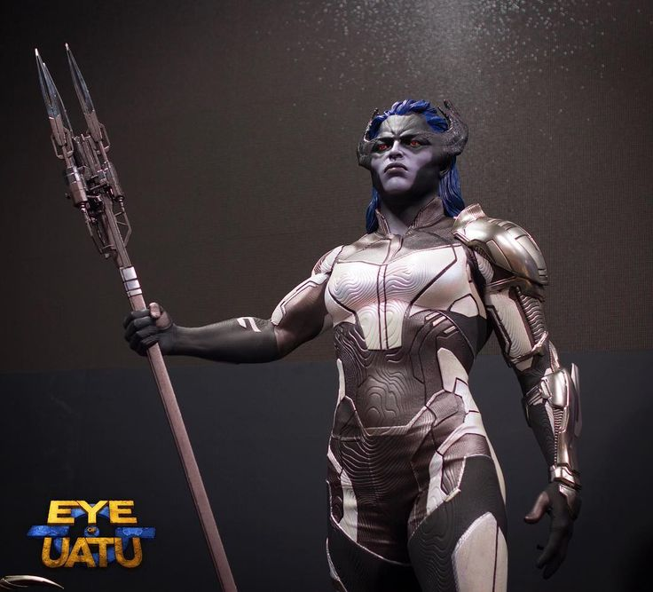 """278 Likes, 5 Comments - Uatu (@eyeofuatu) on Instagram: """"Proxima Midnight. I am in love with this design. The right amount of comic book influence mixed…"""""""