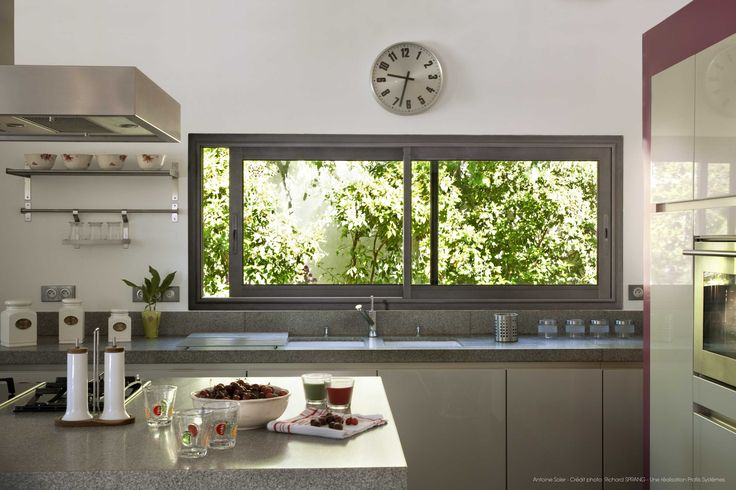 25 best ideas about fenetre panoramique on pinterest for Decoration murale fausse fenetre