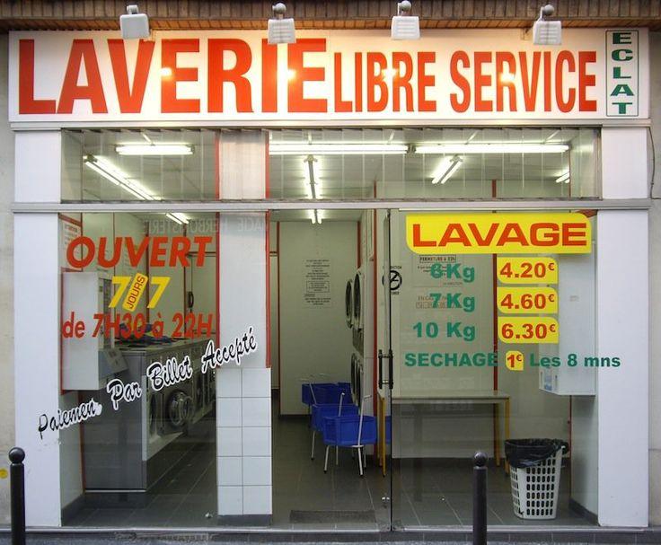 Conversation dans une laverie libre-service - Learn French
