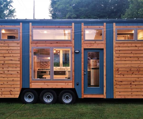 Luxury Blue Heron Tiny House For Sale In Evansville Indiana Tiny House Listings Tiny House Listings Tiny House Vacation Tiny House Plans