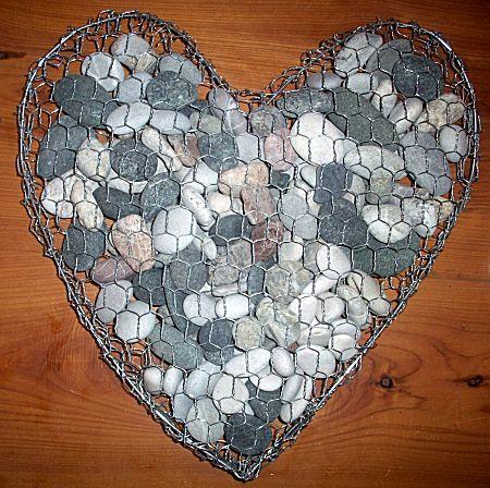 25 beste idee n over valentijnsdag decoraties op pinterest papieren harten papieren - Tuin decoratie met kiezelstenen ...