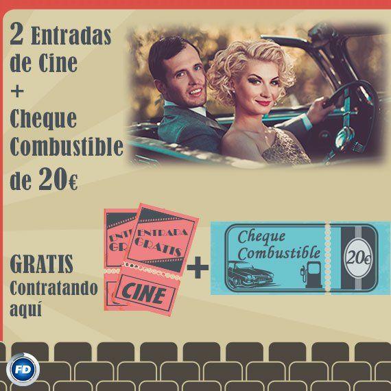 ¡Últimos días de #promoción ! 2 entradas de cine y un cheque combustible de 20€ de regalo► https://www.fenixdirecto.com/es/seguros/8000081-landing-card