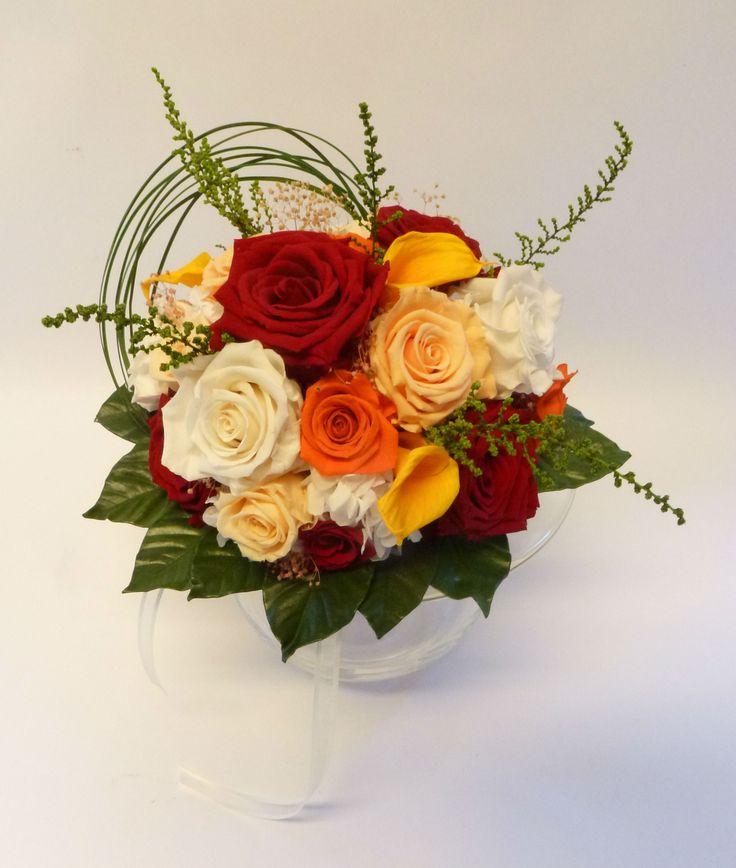 Des fleurs aussi belles qu'à l'état frais - sans les contraintes