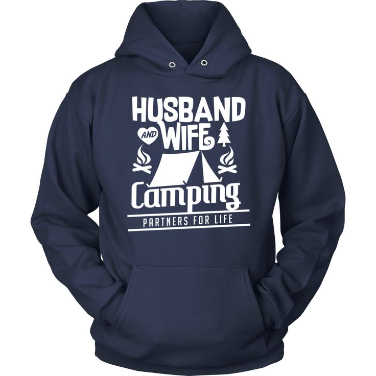 Husband And Wife Camping Partners For Life - Pacific Coast Outlet