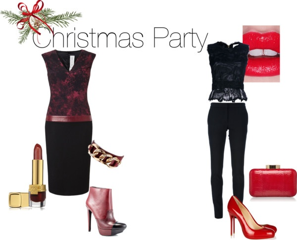 """""""Christmas Party"""" by pixibox on Polyvore"""