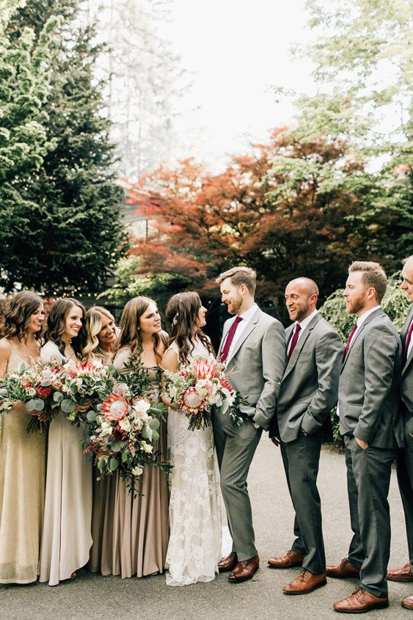 Boho Protea Wedding Bouquets 30 Of Our Most Pinned Fall Weddings