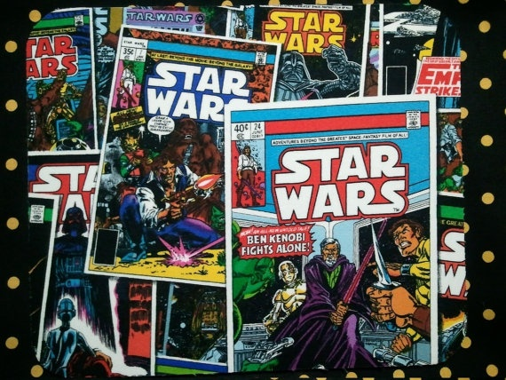 Classic Comic Book Star Wars Computer Mousepad  Can be by melrowe, $9.00