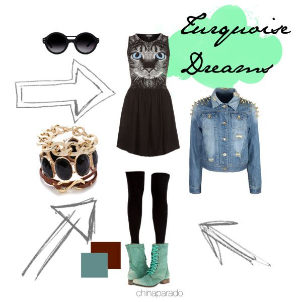 """Turquoise Dreams"" by chinaparado on Polyvore"