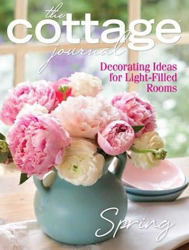 38 best the cottage journal - covers images on pinterest