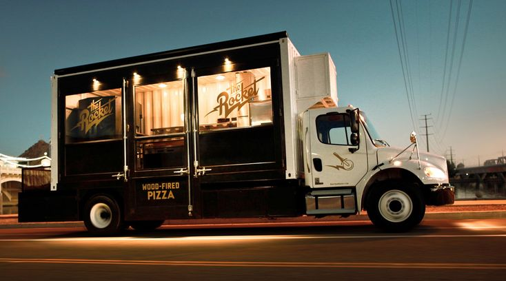 The Rocket Pizza Truck | Whiskey Design