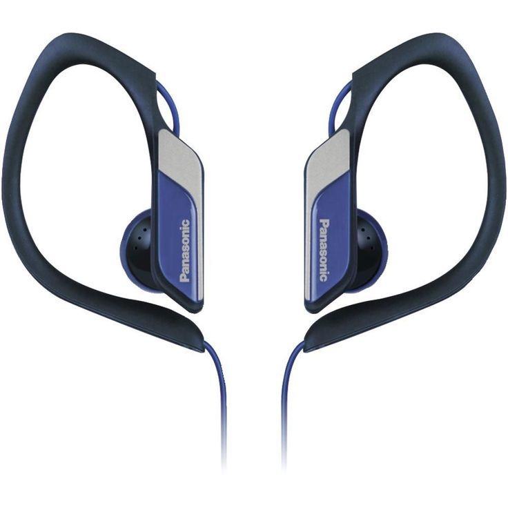 PANASONIC RP-HS34-A Sweat-Resistant Sports Earbuds (Blue)