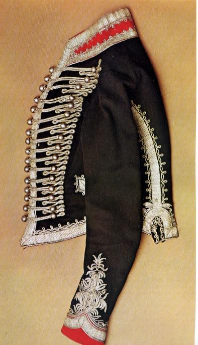 British Napoleonic Yeomanry hussar jacket