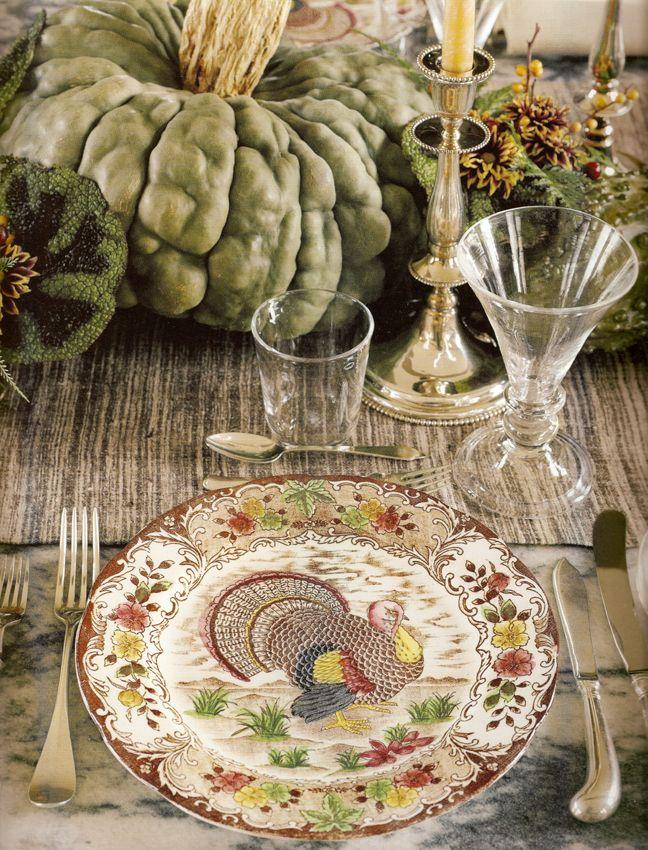 Thanksgiving table & 69 best VINTAGE MARTHA STEWART images on Pinterest | Martha stewart ...