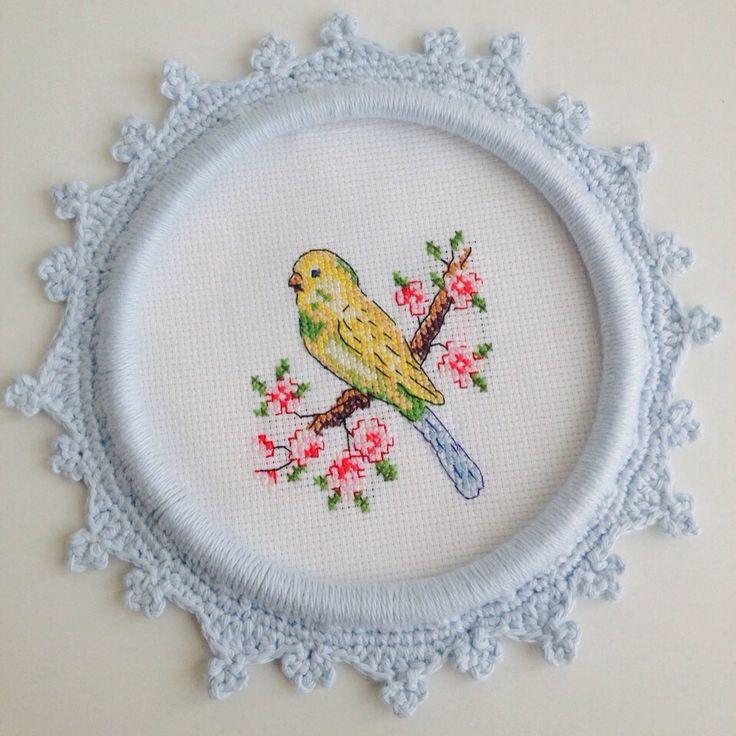 Cross stitch birds @ayseegullce