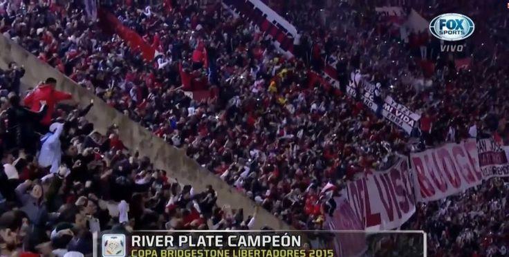 LA PELICULA HD - RIVER CAMPEON COPA LIBERTADORES 2015