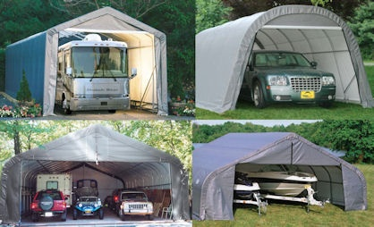 Portable Garage Shelter Logic **Stop Weather and Sun ...