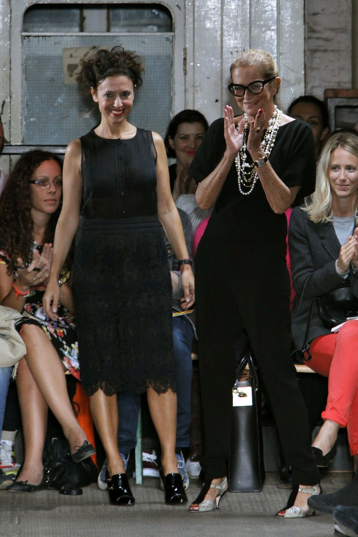 Rossella Jardini @ Moschino Cheap And Chic Spring 2013, London
