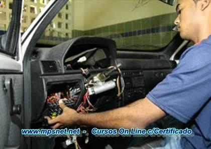 Curso Eletricista de Automoveis - passo a passo. Veja em detalhes no site http://www.mpsnet.net/G/627.html via @mpsnet Aprenda fazer reparos e manutencao de sistemas eletricos e eletronicos em carros nacionais e importados. Veja em detalhes neste site