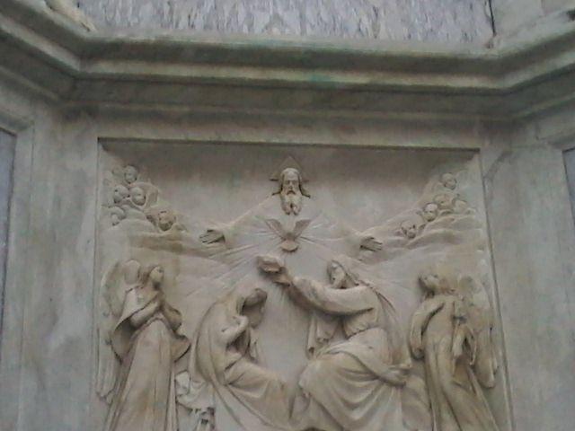 Coronaciòn de Maria (inmaculada concepciòn) Piazza Spagna