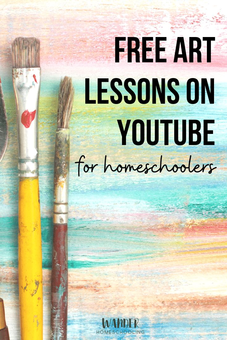 Free Artwork Classes on Youtube for Homeschoolers – You may train artwork your self with …