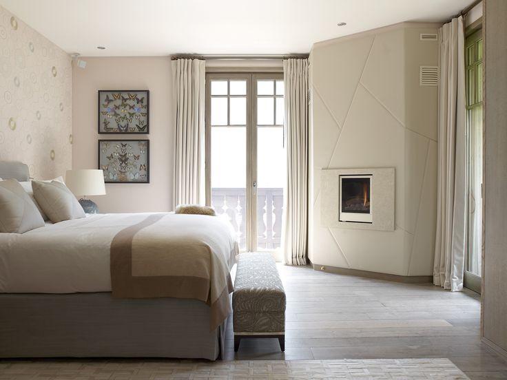 Panelled wall INTERIOR DESIGN ∙ CHALETS ∙ Chamonix - Todhunter EarleTodhunter Earle