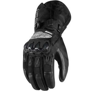 Icon Patrol Waterproof Gloves - Black http://www.canadasmotorcycle.ca/icon-patrol-waterproof-gloves.html $71.96 (free shipping)