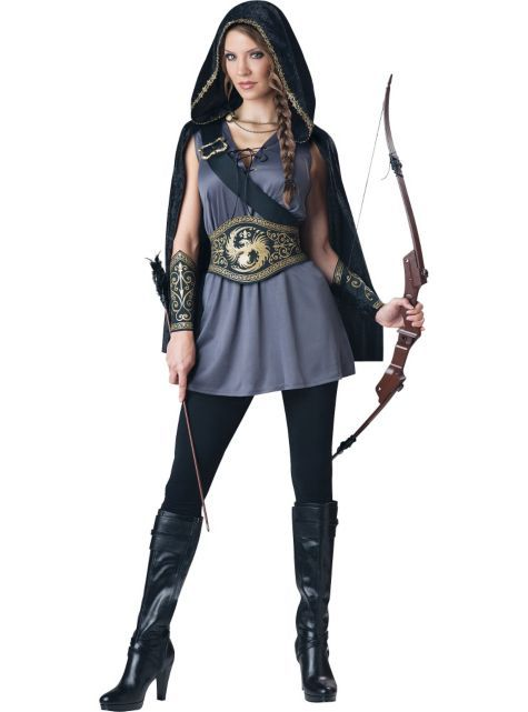 huntress adult womens costume idea for a reimagined merida - Best Halloween Costume Ideas For Women
