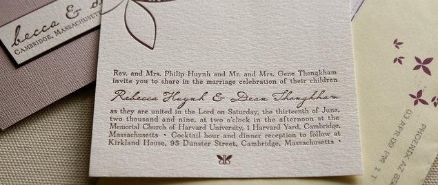 Diy wedding challenge 2010 letterpress invitations