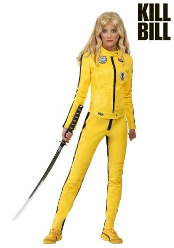 This Beatrix Kiddo Motorcycle Suit costume from the movie Kill Bill is officially licensed and available exclusively from us!