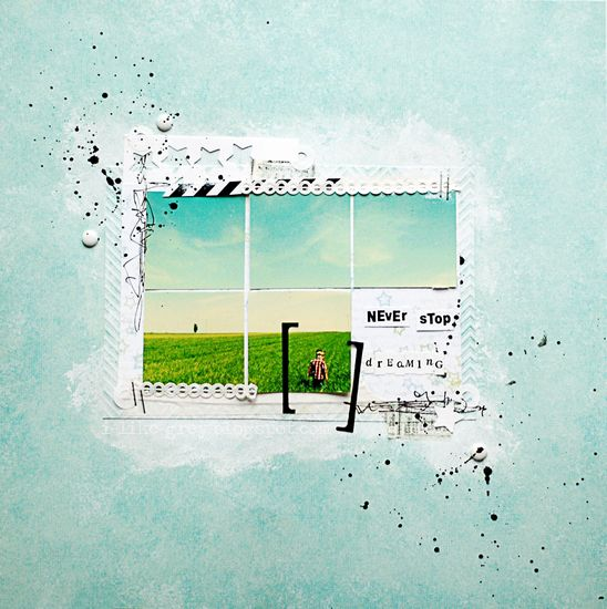 Scrapbook inspiration: grid styled photograph.