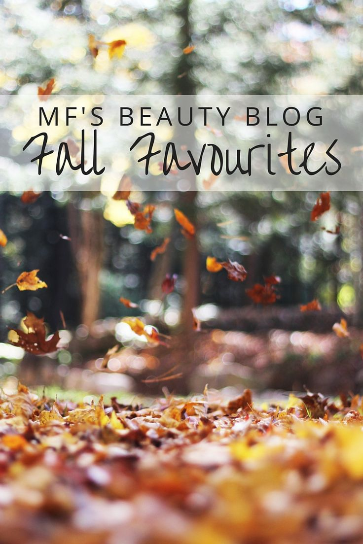 MF's Beauty Blog: Fall Faves for Hair, Skin & Makeup