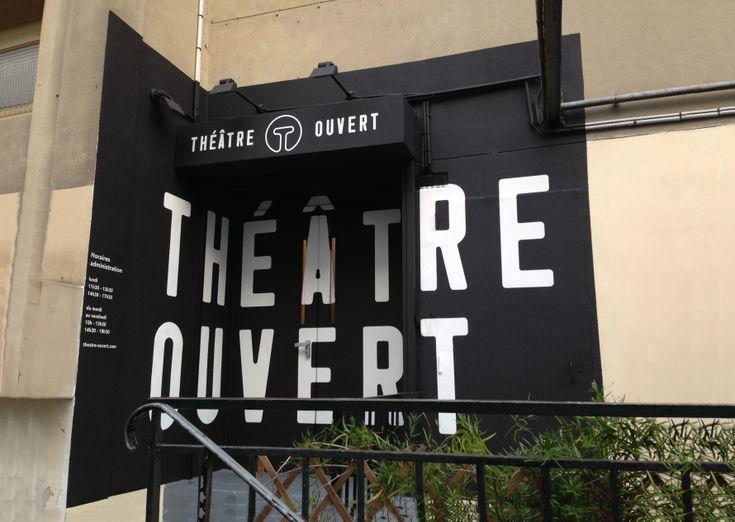 Théâtre Ouvert - entrée
