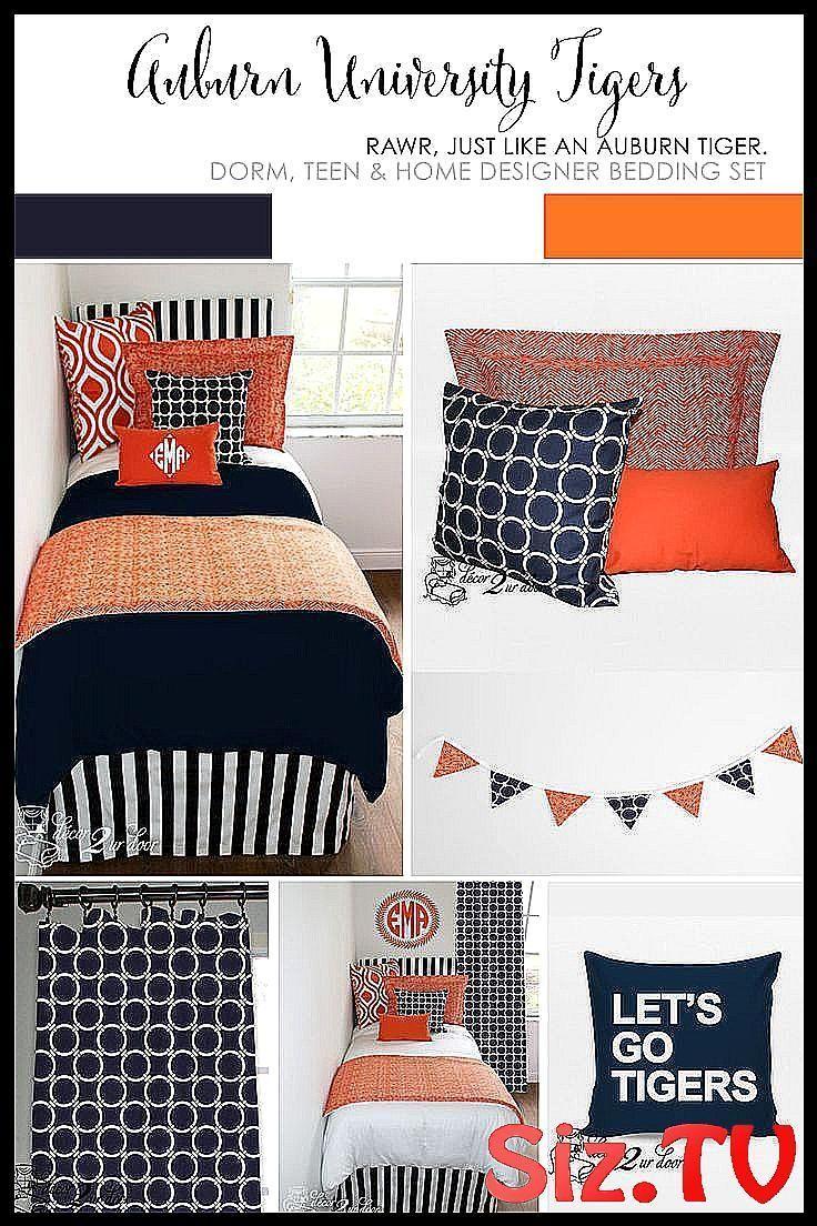 Auburn University Dorm Room Ideas Orange And Blue Accessories