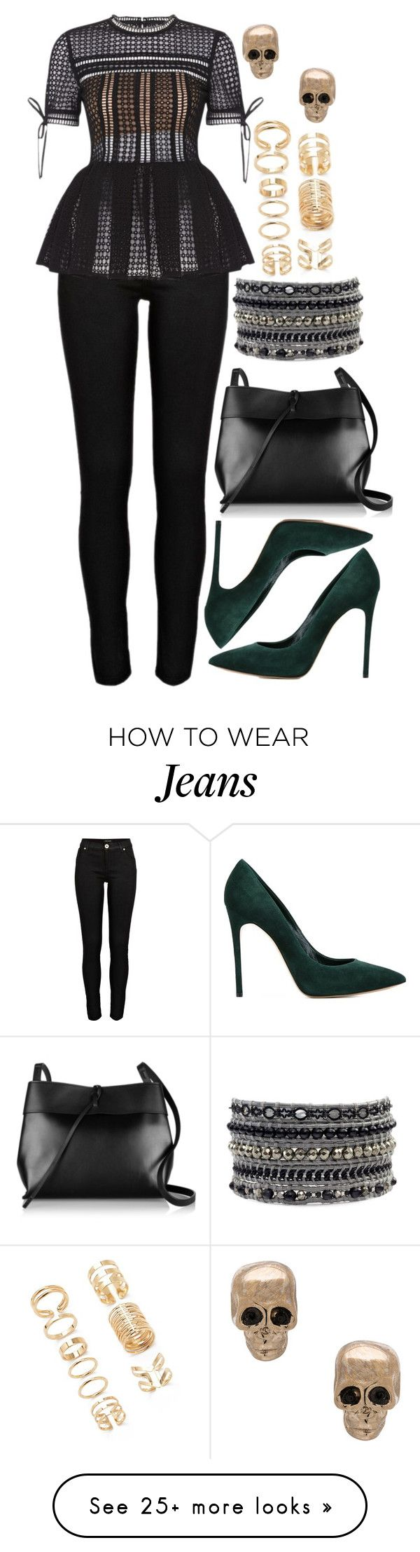 """1013."" by adc421 on Polyvore featuring River Island, Casadei, Kara, Forever 21 and Givenchy"