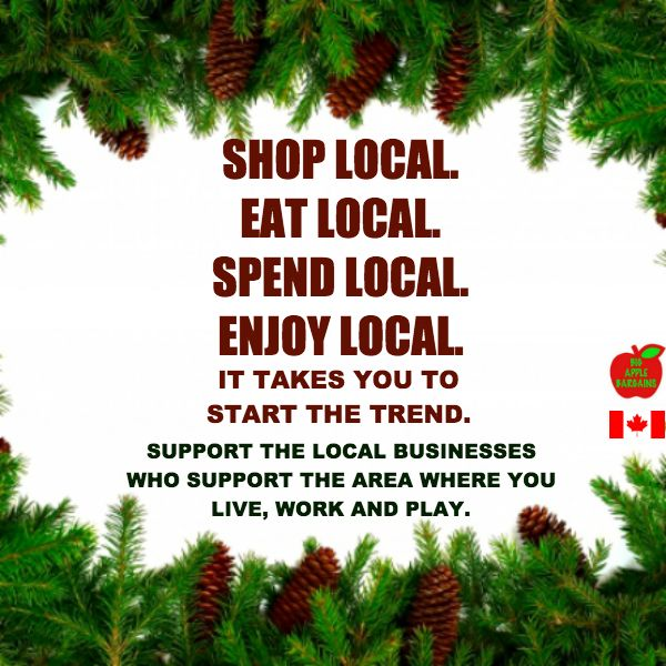 #SHOPLOCAL  ✳✳✳✳ www.BigAppleBargains.ca ✳✳✳✳