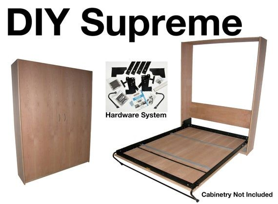 Supreme Steel Bed Frame Mechanism Complete Diy Murphy Wall Bed