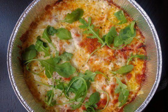 Foliepizza utan botten