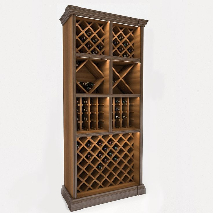 Шкаф для хранения вина 6261 Деметра Вудмарк