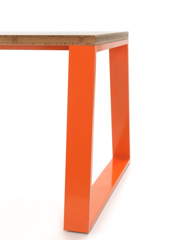 Table with metal legs