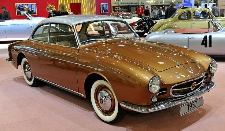 1957 Beutler Porsche Coupe 1600