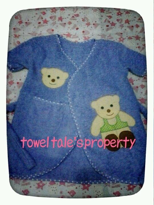 handmade stitch bathrobe