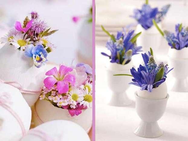 Lavoretti di Pasqua: gusci d'uova porta fiori http://www.arturotv.tv/pasqua/lavoretti-pasqua-uova-fiori