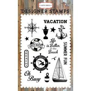 Szilikonbélyegző készlet , Yacht Club / Designer Stamps - Sea Breeze (1 csomag)